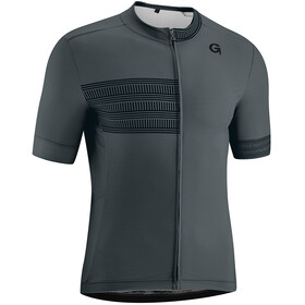 Gonso Narbon Full-Zip SS Bike Jersey Men graphite